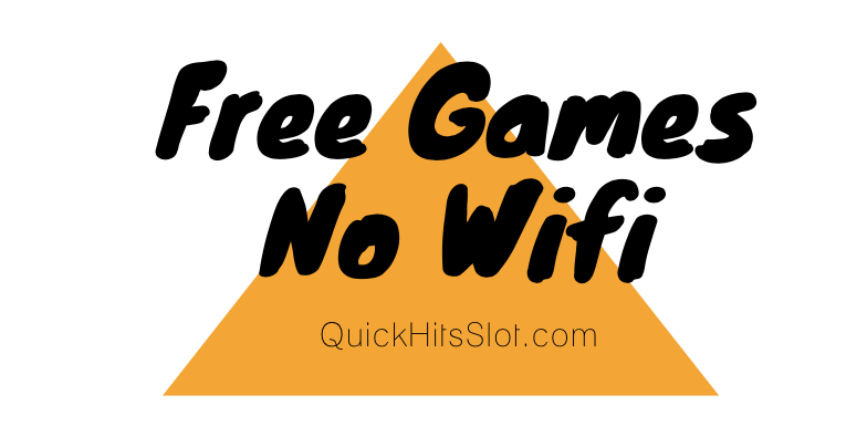 free casino slot games without wifi